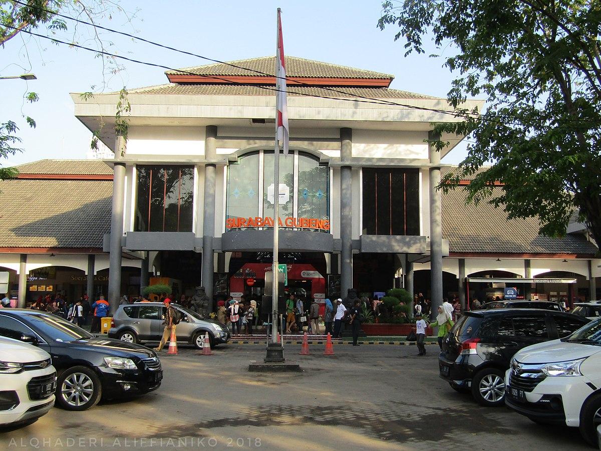 Stasiun Surabaya Gubeng Wikipedia Bahasa Indonesia Ensiklopedia Bebas