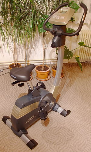 Stationary bicycle, home fitness equipment, home fitness exercise equipment, home gym fitness equipment, used home fitness equipment
