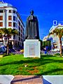 Statue Ibn Khaldoun photo2 تمثال ابن خلدون.jpg