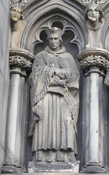 Statue of Gavin Douglas, Bishop of Dunkeld.JPG