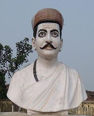 Vidyapati - Image: Statue of Maha Kavi Kokil Vidyapati