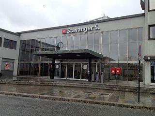 Stavanger Station railway station in Stavanger, Norway