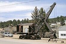 vecchie escavatrici a vapore le origini 220px-Steamshovel