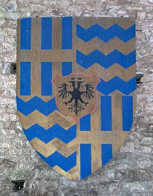 Landi family - Image: Stemma famiglia Landi ingresso Castello di Bardi cropped