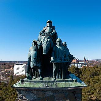 Sten Sture the Elder - The Sten Sture Monument in Uppsala, by Carl Milles.