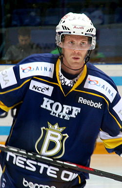 Stephané Veilleux of the Espoo Blues - 20101026.jpg