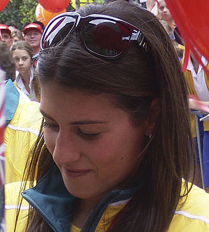 Stephanie Rice - Rice at the Brisbane Olympic Homecoming Parade after 2008 Summer Olympics