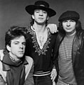 Stevie Ray Vaughn and Double Trouble (1983 publicity photo by Don Hunstein).jpg