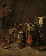 Still life in a stable