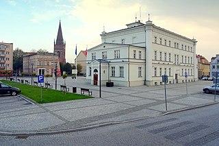 Skwierzyna Place in Lubusz Voivodeship, Poland