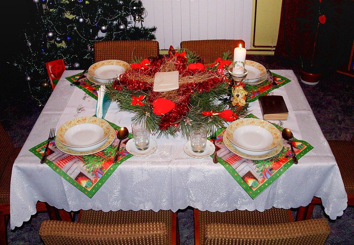 Wigilia Bożego Narodzenia – Wikipedia, wolna encyklopedia