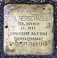 Stolperstein Berliner Str 26 (Panko) Dora Herschander.jpg