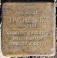 Stolperstein Caspar-Theyß-Str 24 (Schmar) Lina Hurwitz.jpg