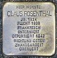 Stolperstein Claus Rosenthal Kehl.jpg
