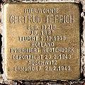 Stolperstein Düsseldorfer Str 47 (Wilmd) Gertrud Teppich.jpg