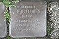 Stolperstein Duisburg 300 Mittelmeiderich Augustastraße 29 Hugo Cohen.jpg