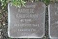 Stolperstein Duisburg 300 Mittelmeiderich Augustastraße 29 Mathilde Kaufmann.jpg