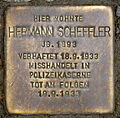Stolperstein Hermann Scheffler Demminer Straße 13 0032.JPG