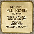 Stolperstein für Paul Lipschitz (Libourne).jpg