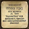 Stolperstein für Rywka Fuks (Cottbus).jpg