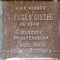 Stumbling block for Eugen Ginzel (Sternengasse 48)