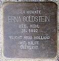 Stolpersteine Krefeld, Erna Goldstein (Bogenstraße 73).jpg