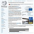 Straßenaktion gegen Leistungsschutzrecht Wikipedia Artikel.jpg