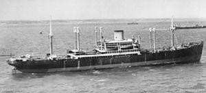 Battle between HMAS Sydney and German auxiliary cruiser Kormoran - Straat Malakka in 1940