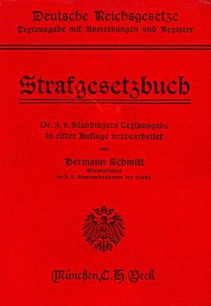 Strafgesetzbuch - Strafgesetzbuch (1914)