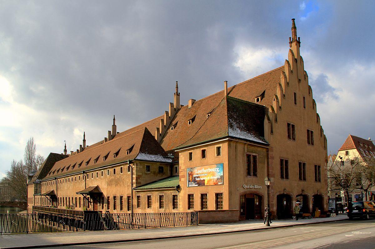 Ancienne douane de Strasbourg — Wikipédia 5eb96c2092ed