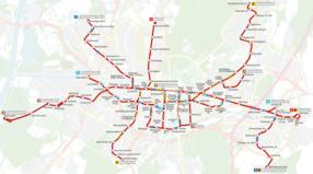Karlsruhe Netzplan