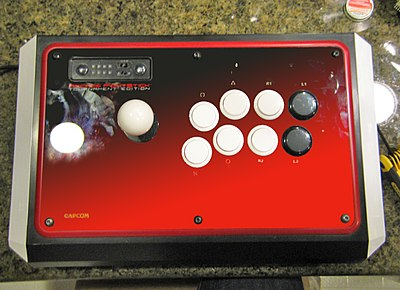 Street Fighter IV TE stick modified.jpg