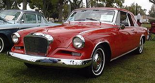 Studebaker Gran Turismo Hawk car model