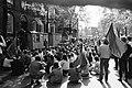 Studenten van Universiteit Amsterdam staken uit protest tegen invoering Wet Veri, Bestanddeelnr 923-5212.jpg
