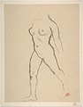 "Study for ""Action in Chains (Monument to Louis-Auguste Blanqui)"" or ""Île de France (Woman Walking in Water)"", 1905-07 MET DP807600.jpg"