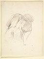 """Study for a Male Figure in """"Comus–The Measure"""" (recto); Reclining Male Nude (verso) MET DP829490.jpg"""
