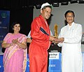 Sudarshan Bhagat presented the National Spandan Awards for outstanding performance in various areas by the persons with multiple disabilities, at a function, in New Delhi on September 10, 2014 (1).jpg