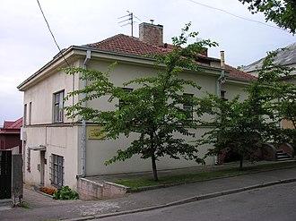 Chiune Sugihara - Former Japanese consulate in Kaunas.