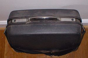 A typical suitcase