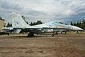 Sukhoi Su-27UB Flanker 66 red (7902967880).jpg