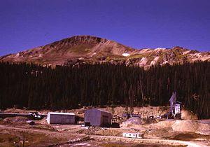 Summitville mine - Image: Summitville Mine CO
