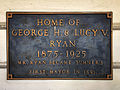 Sumner, WA — Ryan House plaque.jpg
