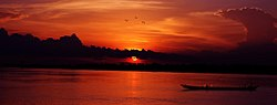 Sunset at River Benue.jpg