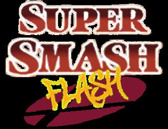 Super Smash Flash - Logo for the original Super Smash Flash