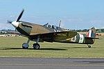 Supermarine Spitfire Ia 'P7308 XR-D' (G-AIST) (31768084008).jpg