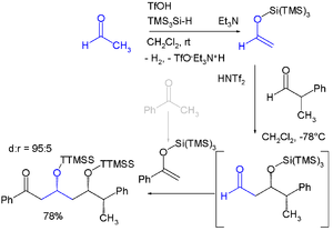 Trimethylsilyl - Super silyl group in diastereoselective synthesis