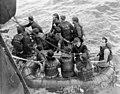 Survivors of the minesweeper HMCS Clayoquot, which was torpedoed by the German submarine U-806... ...des survivants du dragueur de mines NCSM Clayoquot, torpillé par le sous marin allemand U-806... (8641119030).jpg