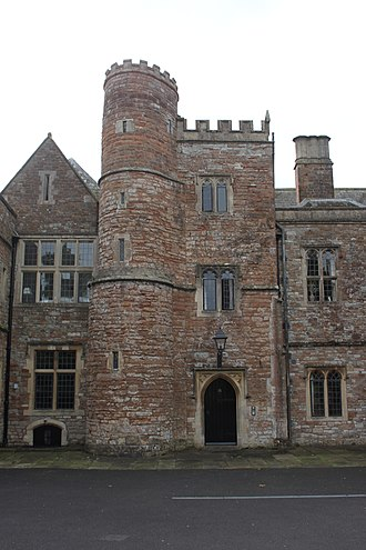Sutton Court - The 14th century tower