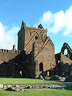 Sweetheart Abbey category A listed building