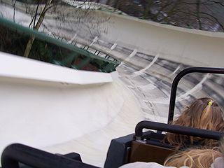 Bob Track roller coaster in Efteling